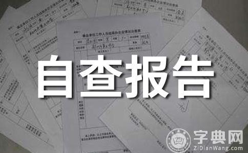 【精品】安全自查报告范文