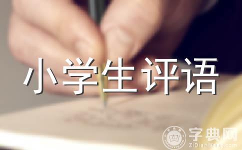 ★小班评语范文集锦14篇