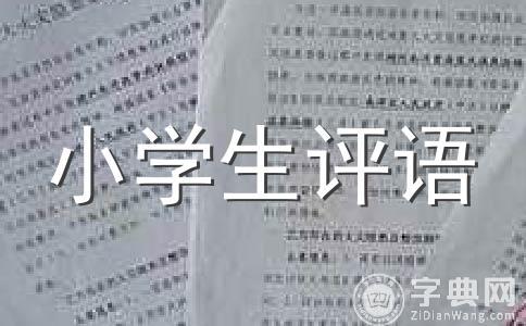 【精品】学生评语范文集锦8篇